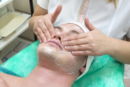man in the mask cosmetic procedure