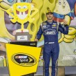 Постер, плакат: NASCAR: May 10 SpongeBob SquarePants 400