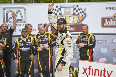 NASCAR:  Aug 29 Road America 180 Fired up by Johnsonville