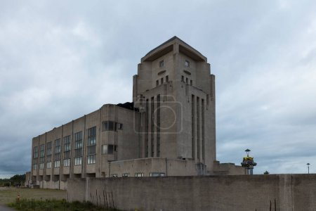 Kootwijk,Holland,18-okt-2020:The building Radio Ko...