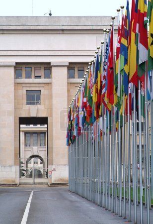 Photo pour Office des Nations Unies à Genève, Suisse - image libre de droit