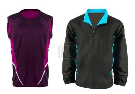 Close-up of new sportswear