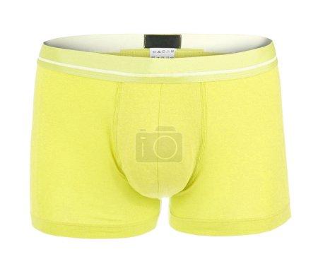 Yellow male underwear