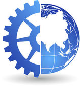 Gear world logo