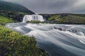 """Постер, картина, фотообои """"Kirkjufell водопад пейзаж, Исландия"""""""