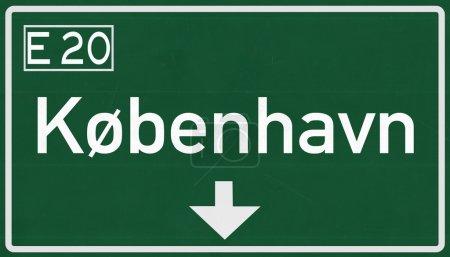 Kobenhavn Road Sign