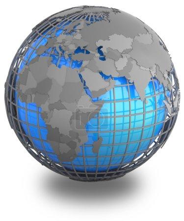 Eastern Hemisphere on Earth