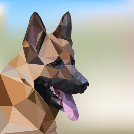 German Shepherd Poly Design