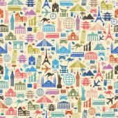 Famous international landmarks