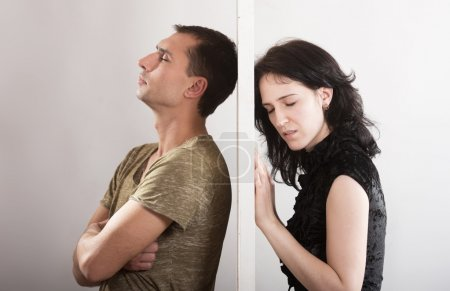 Couple relationships - conflict concept