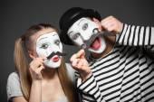 Legrační pantomimy