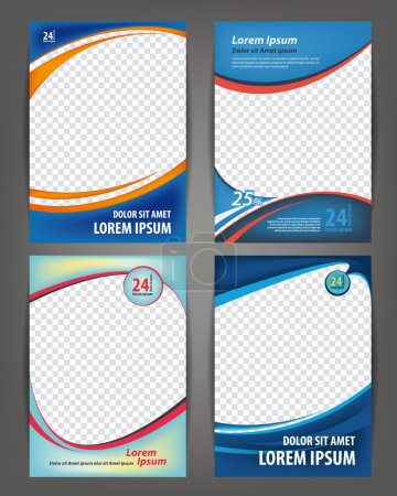Brochures design  templates