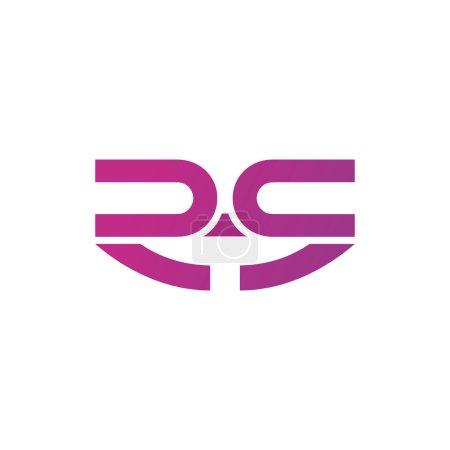 Lettre R logo icône conception des éléments de modèle.