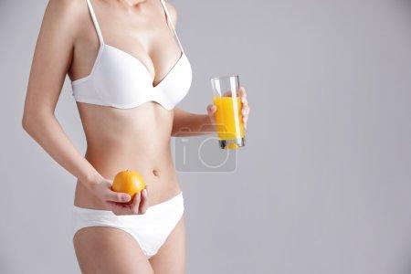 orange for Health concept