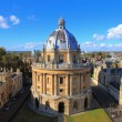 The Oxford University City, Photoed in the top of ...
