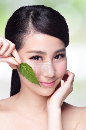 skin care and organic cosmetics