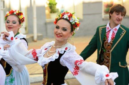 Orel, Russia, August 4, 2015: Orlovskaya Mozaika folk festival,