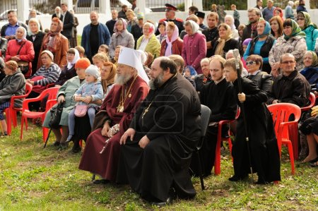 Orel, Russia - September 13, 2015: Orthodox Church Family Day. R