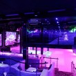 Colorful interior of bright and beautiful night cl...