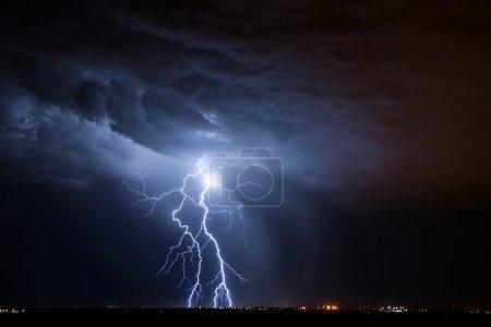 Foto de Relámpago de Tucson - Imagen libre de derechos