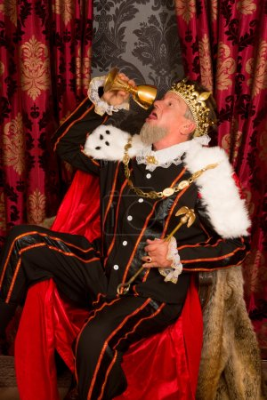 Drunk royalty