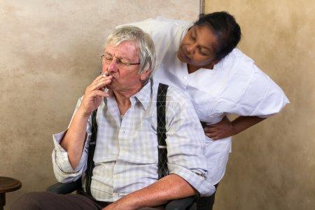 No smoking in nursing home