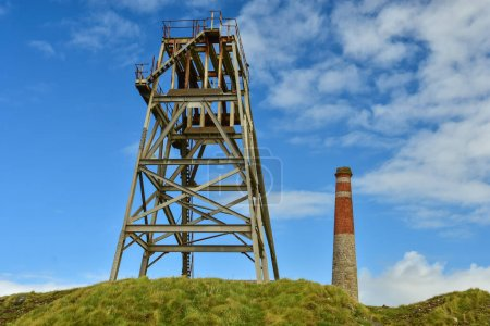 Botallack Mine is a former mine in Botallack in th...