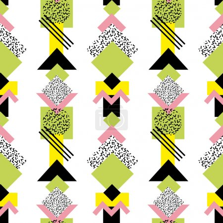 retro abstract shapes