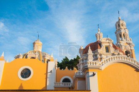 Foto de Nuestra Señora de la iglesia de guadalupe, puebla (México) - Imagen libre de derechos