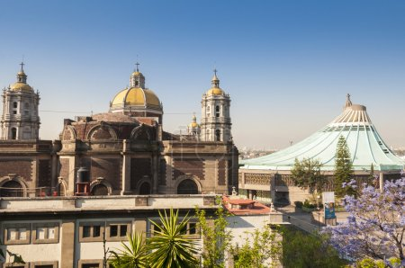 Shrine of Our Lady of Guadalupe in Mexico city