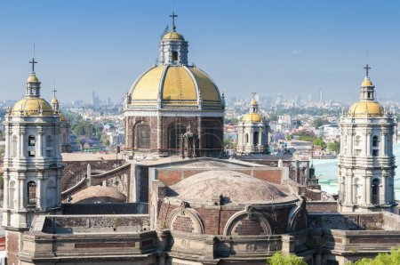 Church of Our Lady of Guadalupe in Mexico city