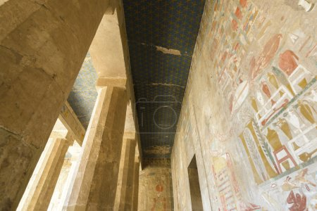 Queen Hatshepsut's temple, Theban Necropolis...