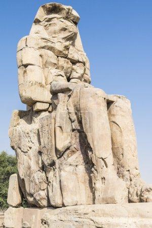 Colossus of Memnon, statue of Pharaoh Amenhotep II...