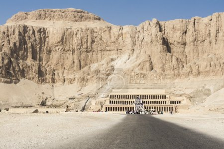 Hatshepsut temple at west bank of Luxor, Egypt...