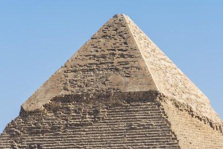 Photo pour Pyramide de Khafre, Gizeh, Egypte - image libre de droit