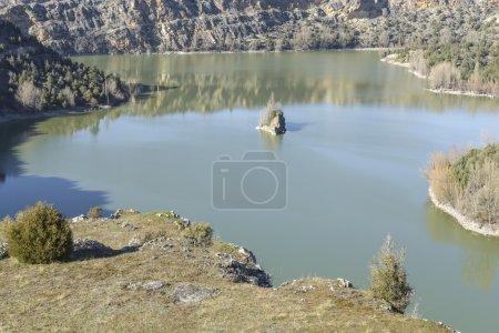 Photo pour Parc Naturel du Canyon Duraton à Ségovie, Espagne - image libre de droit