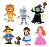 Wizard of Oz Vector Illustration