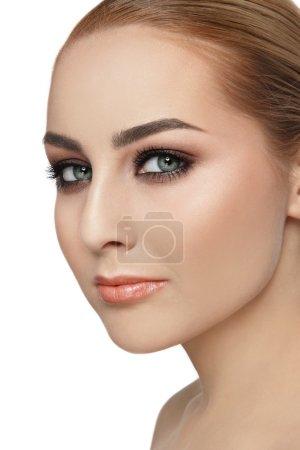 woman with stylish make-up