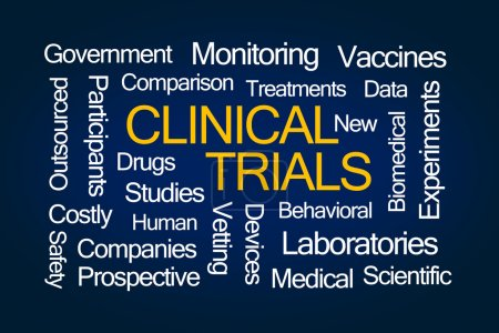 Clinical Trials Word Cloud