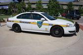 Jacksonville šerifova úřadu policejní auto