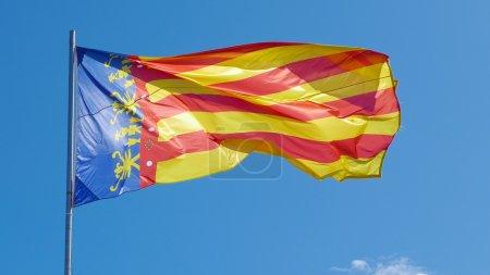 The Flag of Valencia, Spai