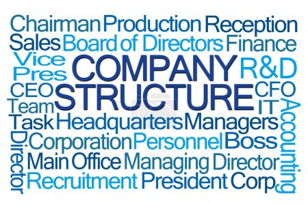 Company Structure Word Cloud