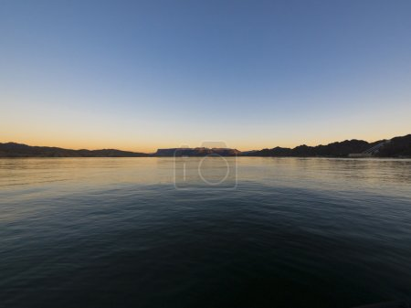 Calm water on Lake Havasu