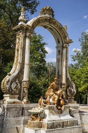 fountain in segovia palace