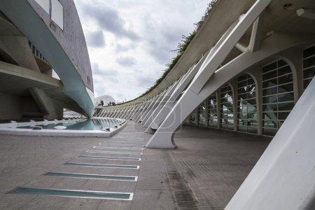 Modern museum architecture in Valencia