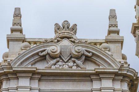 Architecture of city Valencia