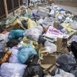 Environment, strike by municipal waste collection...