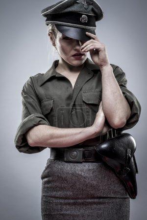 German officer in World War II