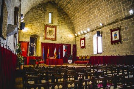 Photo pour Espagnol de l'ancien château de forteresse en pierre - image libre de droit