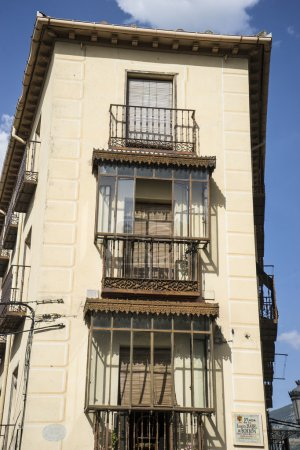 Classical building in San Ildefonso, Spain